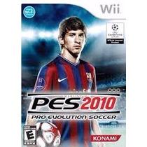 Pes 2010 Wii Pro Evolution Soccer 2010 Wii Lacrado P. Entreg