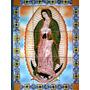 Virgen De Guadalupe Mural De Ceramica