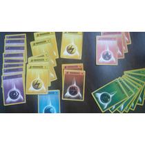 Lote 28 Energias Pokémon Primera Edicion