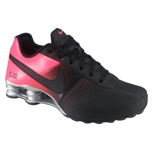 ef6527eced8 Tênis Nike Shox Deliver 317549-081 Preto rosa Fluor - R  499