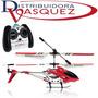 Helicoptero Recargable Volador De 25 Cm A Control Remoto