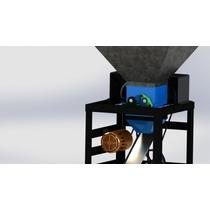 Maquina Quebradora\ Peladora Nuez Macadamia 10kg/min