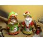 Pareja De Santas En Ceramica