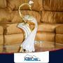 Pavo Real Decorativo Dorado, Decoración Hogar