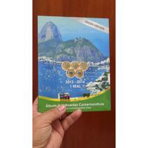 Álbum Para As Moedas Comemorativas Das Olimpíadas