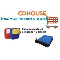 Estuche Porta Cd, Dvd