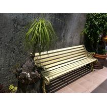 Banca De Fierro Fundido Para Jardin