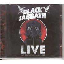 Black Sabbath Live At Birmingham 2012 Cd Raro Lacrado Novo !