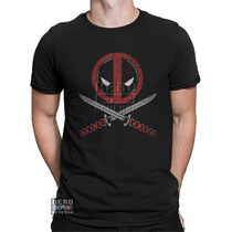Camisa, Camiseta Deadpool Marvel Filme Wilson Hq Rap
