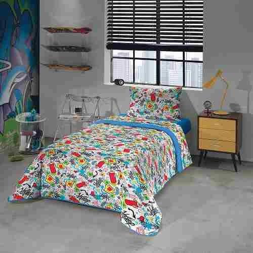 7690225ff7 Kit Edredom + Jogo De Cama Lençol Infantil Menino E Menina - R  220 ...