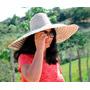 Chapéu Mexicano- Palha Costurada, 55cm! Unissex!