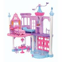 Castillo De La Barbie Mariposa Y La Princesa De Hadas Y Ros