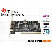 Placa Firewire Pci 1394a Dual Chip Texas Instruments