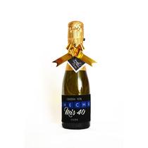 Botella Mumm 187 Personalizada , Souvenirs Cumpleaños