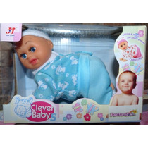 Muñeca Baby Gatea Habla Canta Bebe Querid Juguete Economico