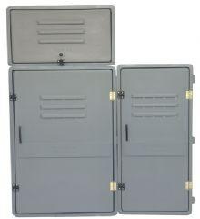 ffcd98d8295 Caixa Tipo L 3 E 4 Medidores Elektro Em Fibra De Vidro Vazia - R ...