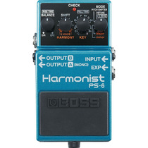 Boss Ps-6 Harmonist Pedal Efeitos Guitarra Ps6 Pitch Shifter