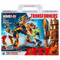 Tb Kre-o Transformers Dino Force Grimlock Street Attack