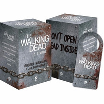 Box Coleção The Walking Dead (5 Livros) + Brinde !