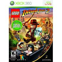 Lego Indiana Jones 2 The Ad Game X360 3.0 Frete Grátis