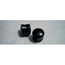 Expansores En Obsidiana Aretes Tunel 16mm
