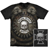 Camiseta Premium Black Label Society Stamp