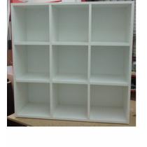 Biblioteca 9 Cubos-30x30x30-fondo Envío Gratis Caba-zona Sur