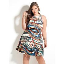 Vestido Basico Plus Size Verao Casual, Vestido Verão 2017
