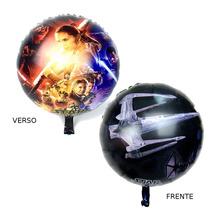 1un Balão Metalizado Star Wars 45cm