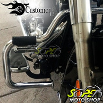 Protetor Motor Mata Cachorro Customer Moustache Fat Boy ..05