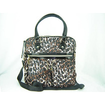 Bolso Betsey Johnson Large Cheetah Punk School Femenino