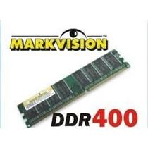 Memória De 1gb Ddr400 Pc3200 Markvision 184pinos Desktop!