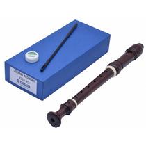 Flauta Doce Soprano Yamaha Yrs82 Profissional Madeira