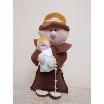 Boneco Santo Antonio Em Feltro - Frete Gratis