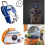 Mochila R2-d2 Rodinhas Lancheira Bb8 Star Wars Disney Oficia