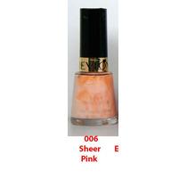 Pinturas De Uñas, Esmalte Revlon 006 Sheer Pink
