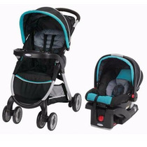 Coche Travel System Graco Fast Action Rollins Huevito +base