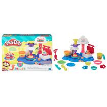 Brinquedos Massinha Play Doh Formas Moldes Festa De Bolos
