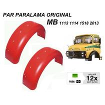 Par Paralama Lata Orig Caminhão Mb 1113 1114 1518 1313 2013