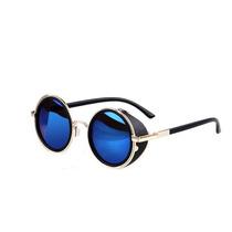 Óculos Redondo Proteção Lateral Lennon Ozzy Homem De Ferro