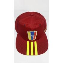 Gorras Plana Venezuela 8 Estrella Y V.tinto Cerrada Ajustab