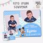 Foto Iman Souvenir Calendario 2017 13x18 Cm