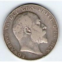 Barese2013 Moneda De Inglaterra 1/2 Medio Crown 1902