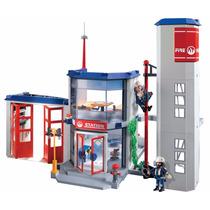 Playmobil 4819 Estación De Bombero Mejor Precio!