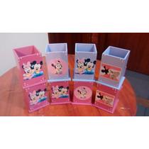 Souvenirs Portalapices Lapiceros Minnie Mickey !!!!!!!