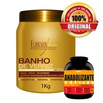 Forever Liss Banho De Verniz Hidratante Brilho Máximo 1kg