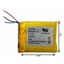 Bateria De Mp3,mp4,mp5 Nova Compátivel Com Varias Marcas.