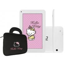 Tablet Dl Hello Kitty Tela 7 Kids Wi-fi Bolsa De Brinde