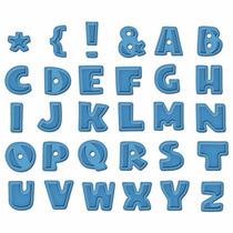 Scrapbook Suaje Corte Alfabeto Letras Abecedario Papel Decor