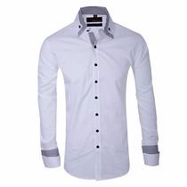Camisa Entallada Importada Slim Fit - Quality Import Usa